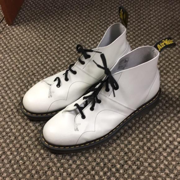 9855a3bb57e Dr. Martens' Monkey Boot White
